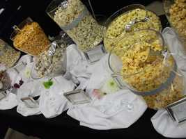 The Popcorn Fanatic has gourmet popcorn, chocolate candies, gift baskets (for main wedding party), gifts (wedding guest favors), popcorn buffets, custom flavors, custom colors (to match your wedding theme and colors) and much more for your wedding needs.