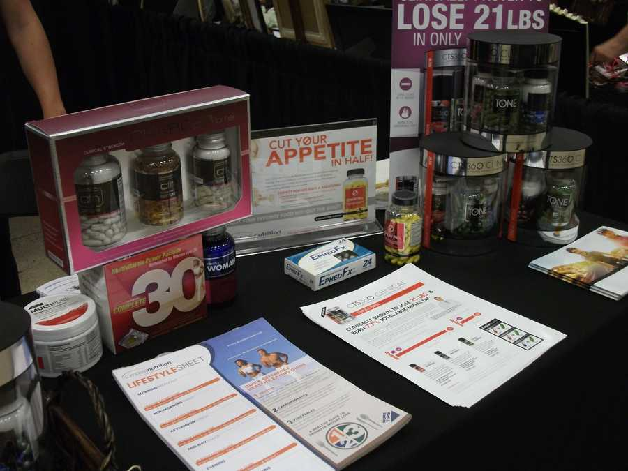 Complete Nutrition was even at The Carolina Weddings Show showing off their goods and talking to couples about keeping healthy through all the stress of wedding planning.