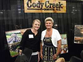 Cody Creek was present at The Carolina Weddings Show to talk to couples about what they had available for wedding parties, the wedding ceremony and even reception areas. Great photo opportunities for memories on Cody Creek's grounds.
