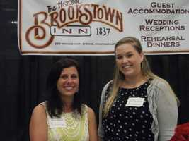 At The Carolina Weddings Show was The Historic Brookstown Inn to talk with couples about the inside areas and courtyard that they have available for ceremonies and receptions. Also the wedding party and guests can stay there before the wedding and after the reception.