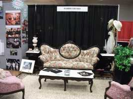 The Gardens At Gray Gables had a very nice booth setup at The Carolina Weddings Show. They have wedding ceremony and reception areas for your wedding planning.
