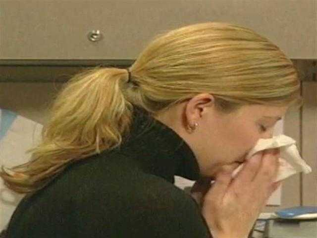 Have you noticed more and more people coughing, sneezing or blowing their nose at work? Unfortunately, it's that time of year -- cold and flu season.
