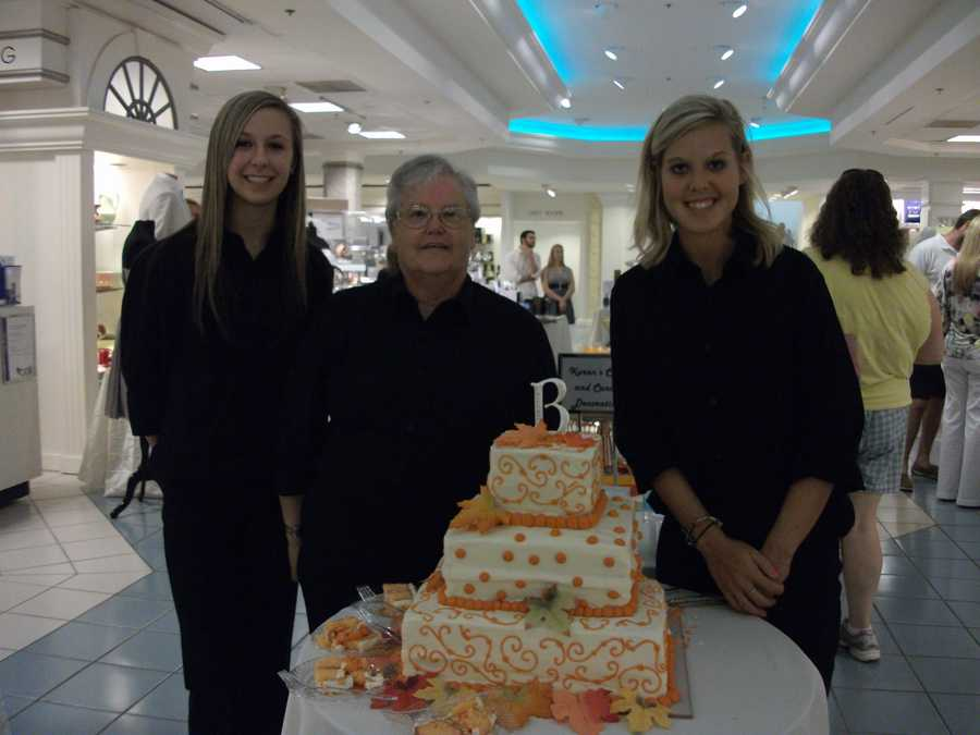 Karen's Cake and Candy Decorating at the Belk Engagement Party.