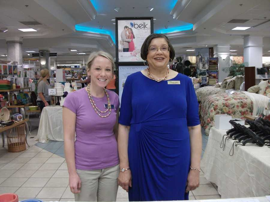 Belk representatives from the wedding planning department greeted couples and helped them get started at the Belk Engagement Party.