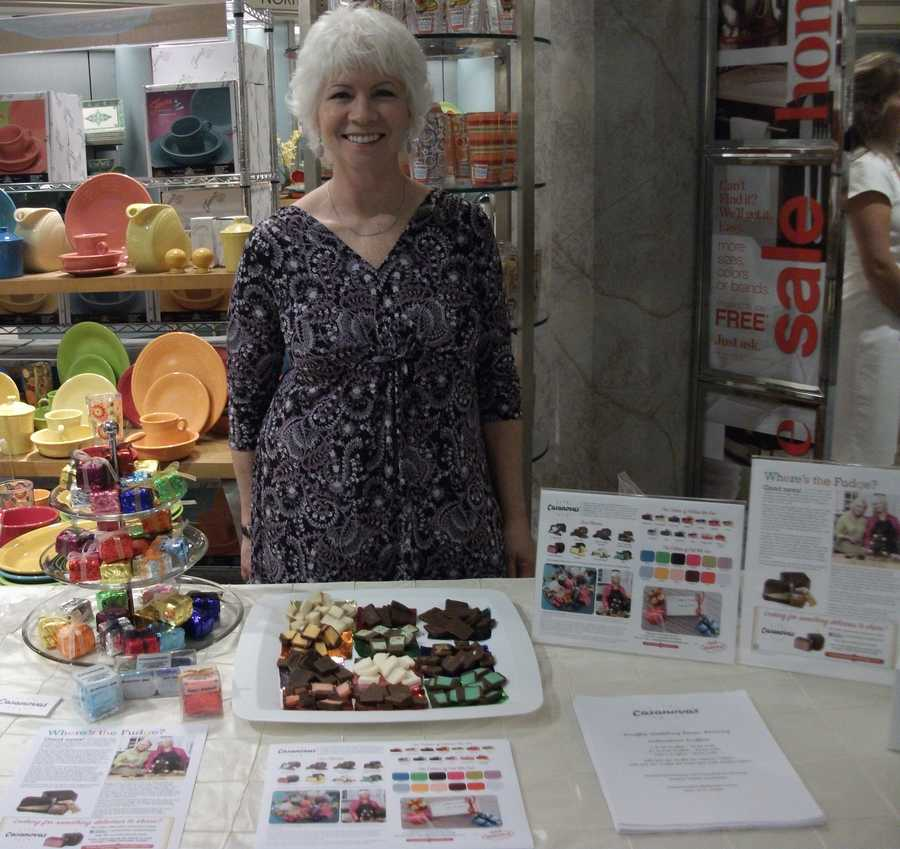 Casanova's Confections Inc. was present at the Belk Engagement Party handing out samples of fine chocolates.
