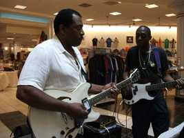 Watch video of theBerk Star Band entertaingingthe couples and guests at theBelk Engagement Party. They also talked to them about playing for their wedding reception...