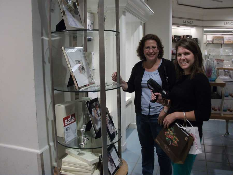 Several brides-to-be and guests enjoyed the Belk Engagement Party and registry for their wedding gifts.