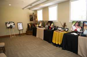 Simply Southern Photography, Inc. was at the WinMock Bridal Show with several photos to show off their work.