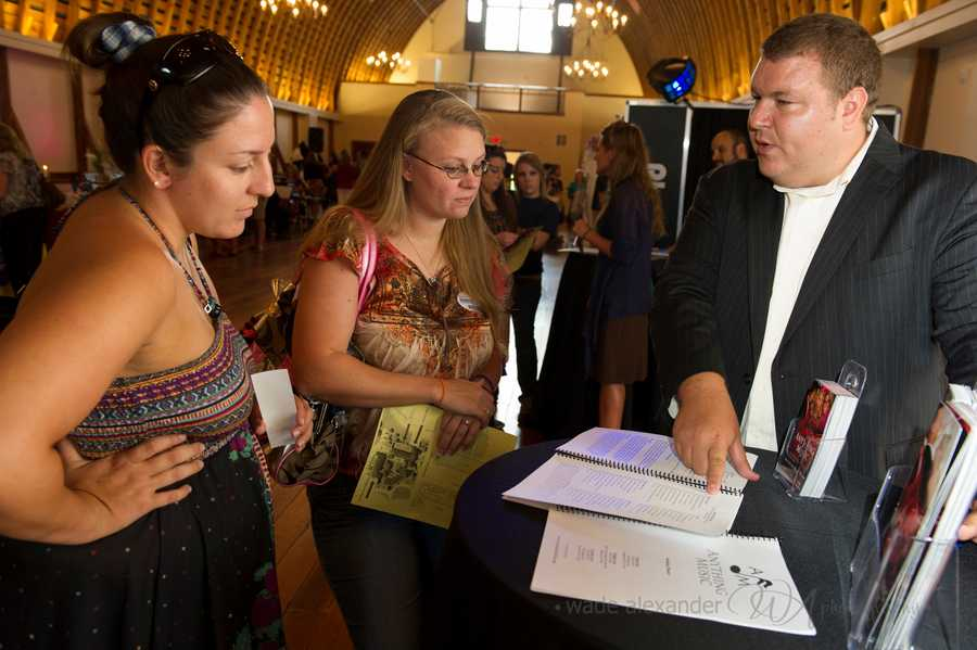 Anything Music showed future brides what they may have for all their wedding music plans.
