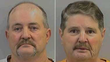 James Caviness, left, and Donnie Caviness, right (Randolph County Sheriff's Office)