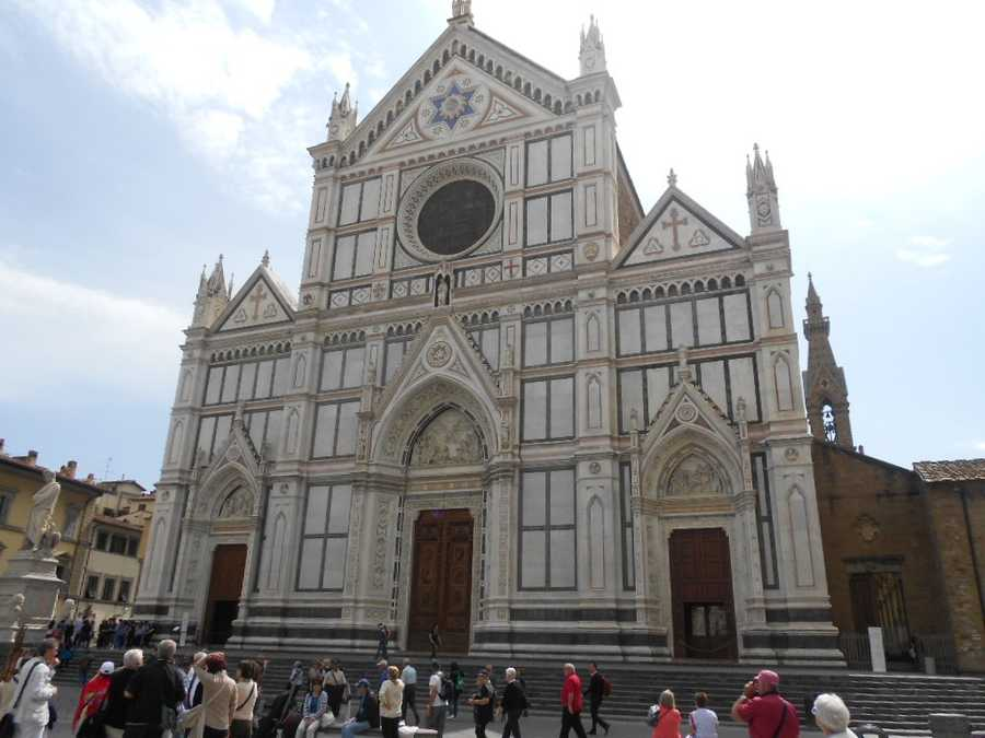 Several historical churches like the Basilica of Santa Croce in Florence, Italy. Couples maybe able to get married in some of them but will have to check with a wedding planner or the church officials.