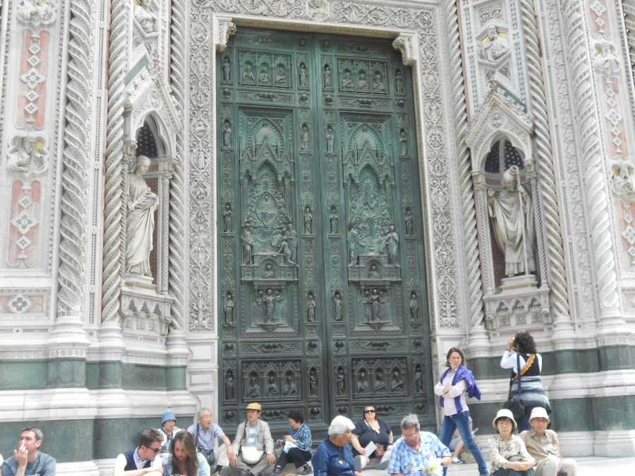 The beautiful intricateartistry in the doors of the Santa Maria del Fiore Cathedral on the Piazza del Duomo would be enough to want to go to Italy on your honeymoon. Not to mention the amazing beaches off the Amalfi Coastline.