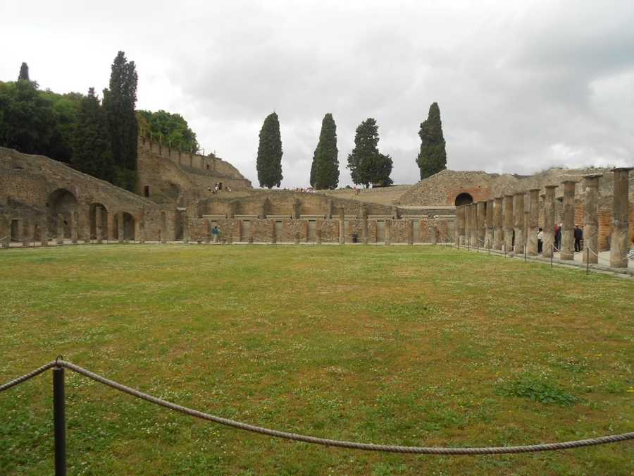 The incredible city of Pompeii that was covered for nearly 1700 years. Photo opps here in historical Pompeii Ruins.
