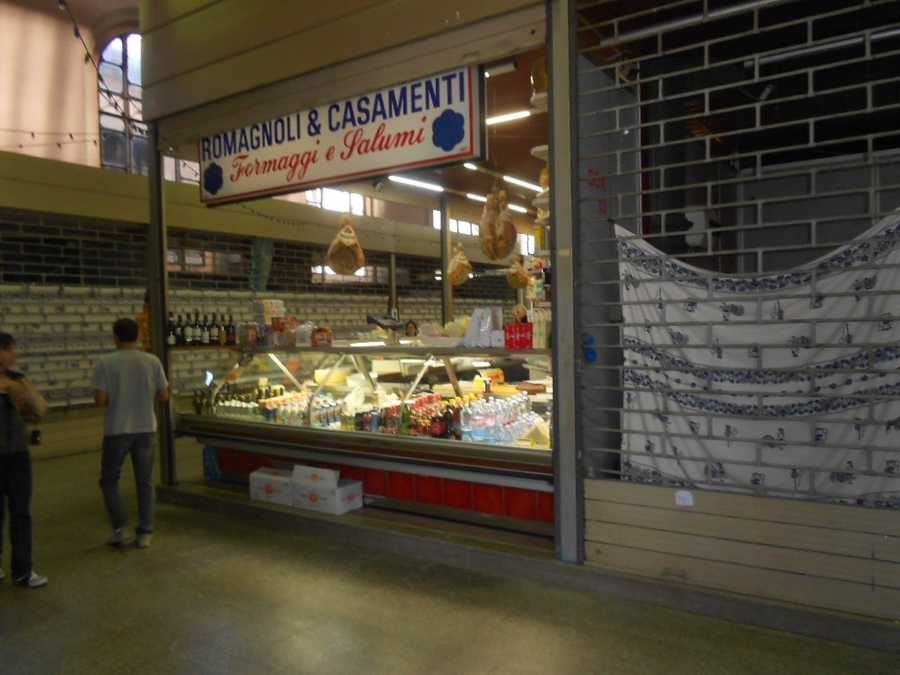 Supermarket in Ravenna, Italy. Mama Mia! Several foods could be catered from supermarkets for your wedding parties, ceremony and reception. (Discuss prices and services for catering with the individual stores).