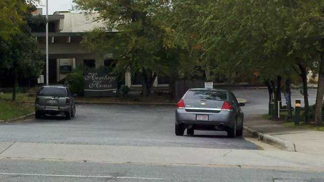 A body was found at the Heritage House apartment complex in Greensboro. (Rich Cisney/WXII)