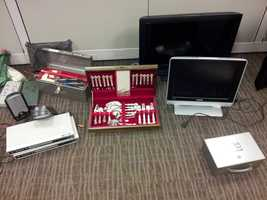 Stolen items recovered from home break-ins