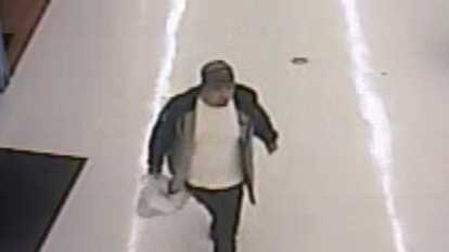This man is suspected of stealing multiple iPads and iPods from the Boone Walmart. (Boone police)