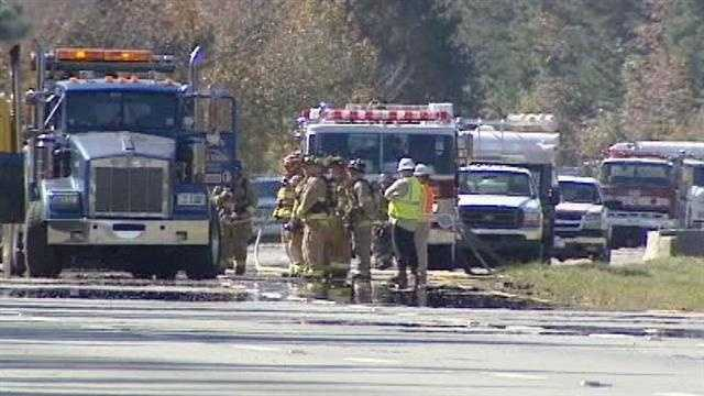 The driver is expected to survive the crash. (Chris Petersen/WXII)