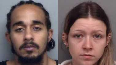 Darius Younger, left, and Kayla Bowman, right (Henry Co. Sheriff's Office)