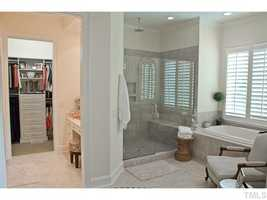 Master Bathroom with walk-in closet