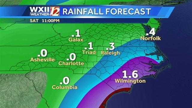 Rainfall futurecast images