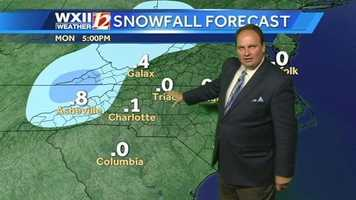Snowfall futurecast