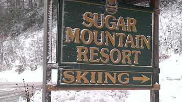 Sugar Mountain Resort in Banner Elk has opened on Oct. 31 for the first time in its history! WXII 12's William Bottomley went there Wednesday and uploaded these photos.
