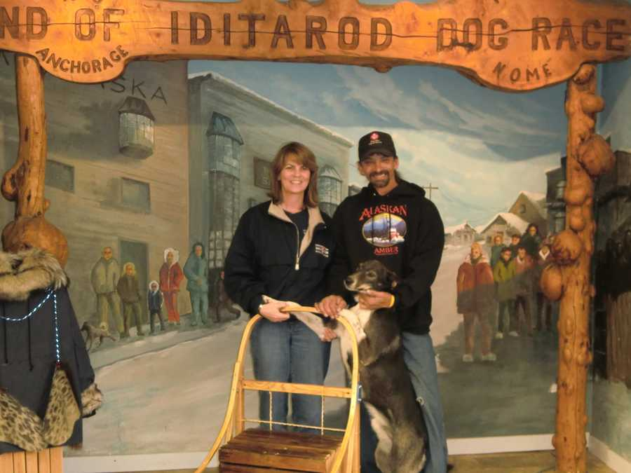 Wasilla, Alaska is famous for the IditarodTrail Sled Dog Race.