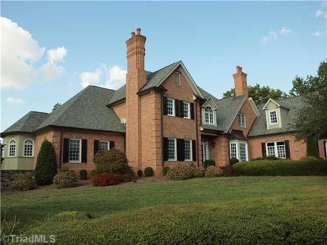 This five bedroom home has six bathrooms and four fireplaces.