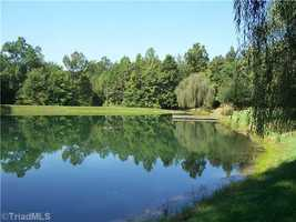 View of a pond located on the property
