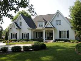 This four bedroom custom built home is located in Winston-Salem and priced at $1,050,00.