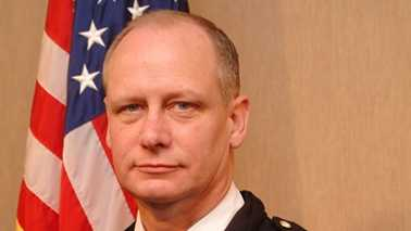 Burlington police chief Michael Williams