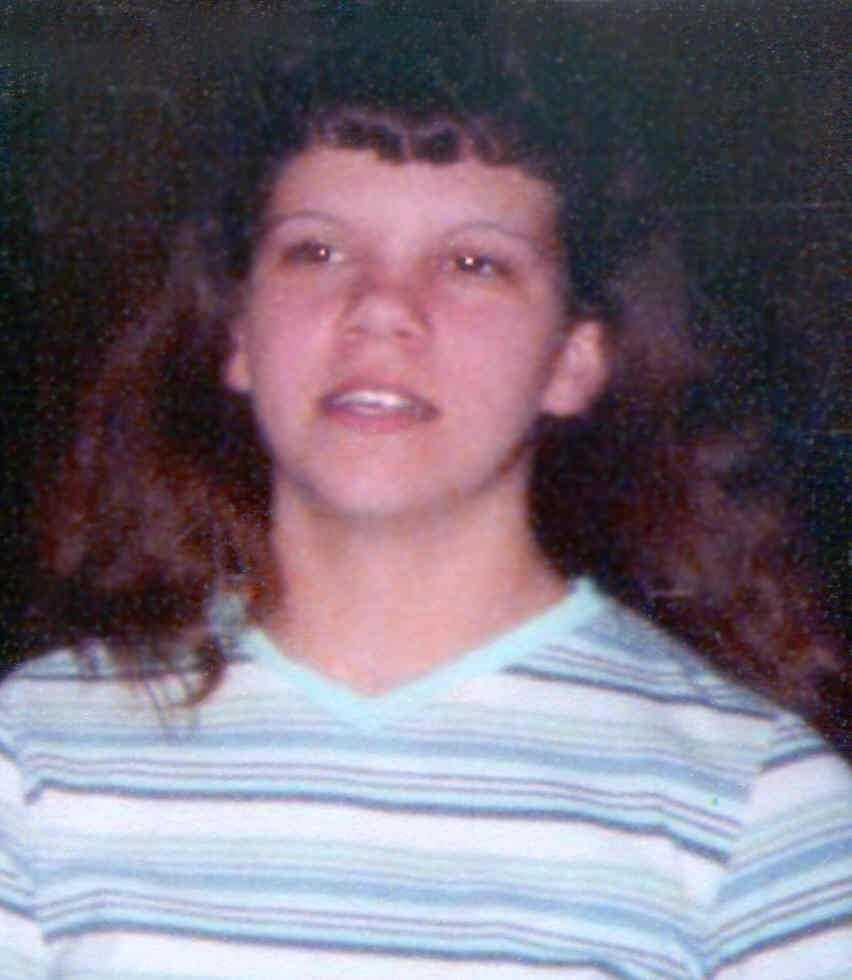 Kimberly Faye Thrower was last seen at her bus stop around 7:00 a.m. on April 29, 2004 in Lauringburg, NC. Kimberly may still be in the local area. She may be traveling with an unknown male companion. Her tongue is pierced. She was 17 years old.