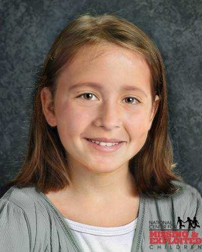 Nataly's photo is shown age-progressed to 7 years. She is missing from Angier, North Carolina. Nataly may be in the company of her mother. They may have traveled to Columbia. Nataly is biracial.