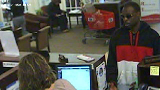 Surveillance photo of robbery suspect (Thomasville police)