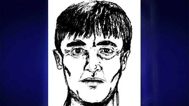 Deputies released this sketch of a man suspected of picking up Tina Rook shortly before she was found stabbed. (Randolph County Sheriff's Office)