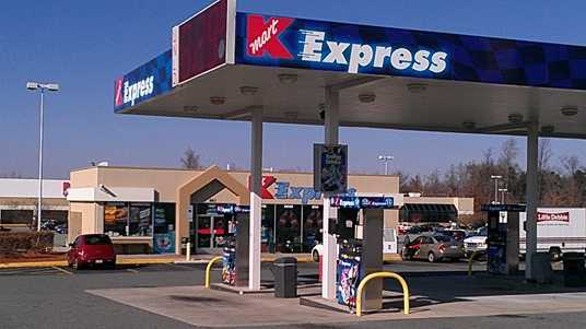 One of the winning $1 million Powerball tickets was sold at this Kmart Express in Burlington. (William Bottomley/WXII)