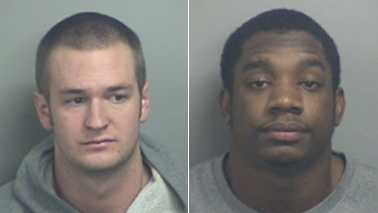 Brian Rody, left, and Joshua Trimble, right (Blacksburg police)