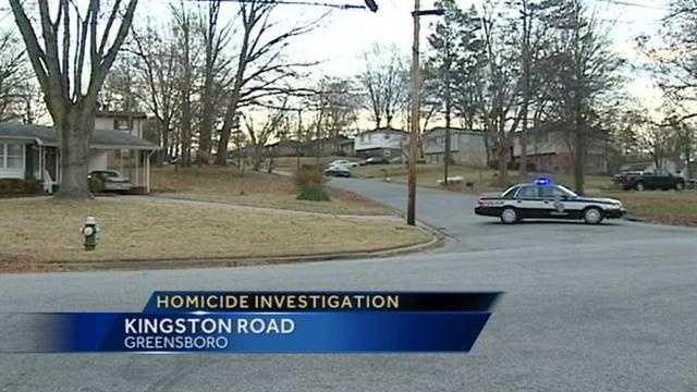 Greensboro homicide investigation