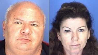 David Gariano, left, and Diane Hall, right (Burlington police)