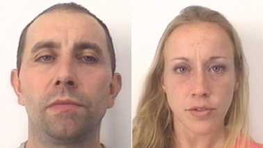 Rodney Byerly, left, and Pamela Scott, right (Davidson County Sheriff's Office)