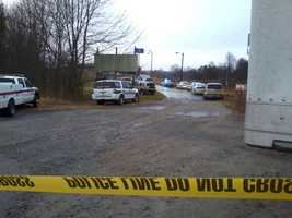 One shot was fired by the suspect, law enforcement officials said. (David Efird/WXII)