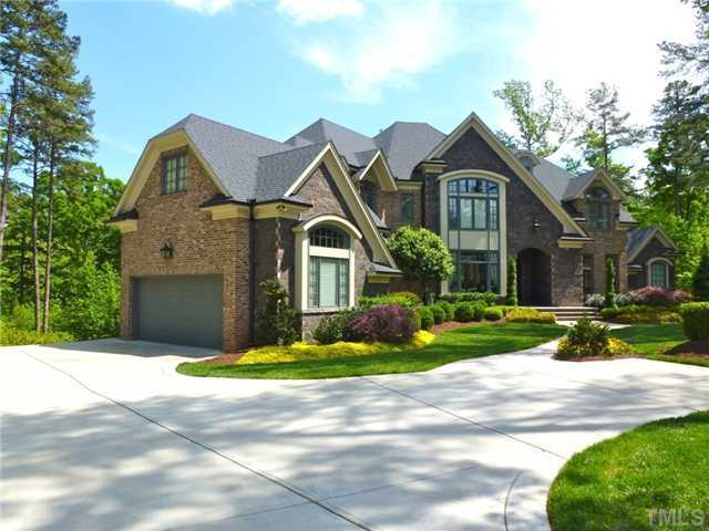 This Raleigh estate has over 7000 square feet of living space. The four bedroom home is priced at $1,850,000.