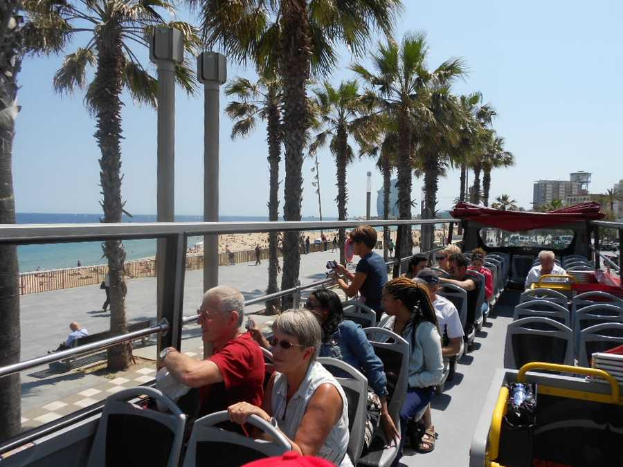 The whole wedding party can go together on tours to see the sights or maybe just the bachelor or bachelorette parties. Honeymooners can enjoy Barcelona by tour bus too.