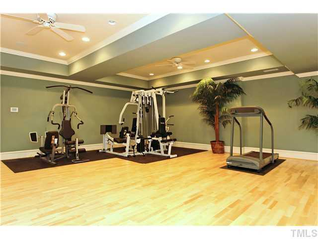 Fitness Room with Sauna