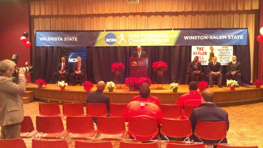 WXII sports director Kenny Beck is in Florence, Alabama, where the Winston-Salem State Rams play for a football national title this weekend! He'll be posting photos to WXII12.com.