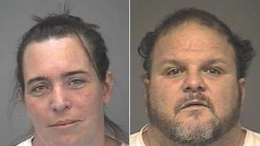 Robyn Perras, left, and Donald Perras, right (Thomasville police)