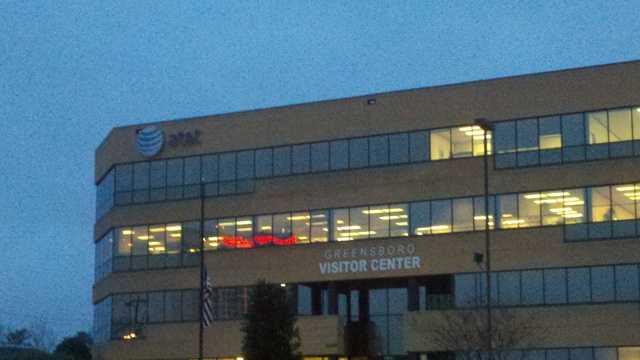 AT&T building near Four Seasons in Greensboro