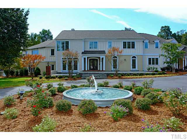 This 12 acre estate is located in Durham. The six bedroom home is priced at $1,900,000.