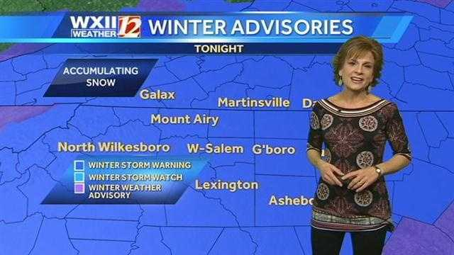 Let's look at what's on tap in the WXII viewing area.